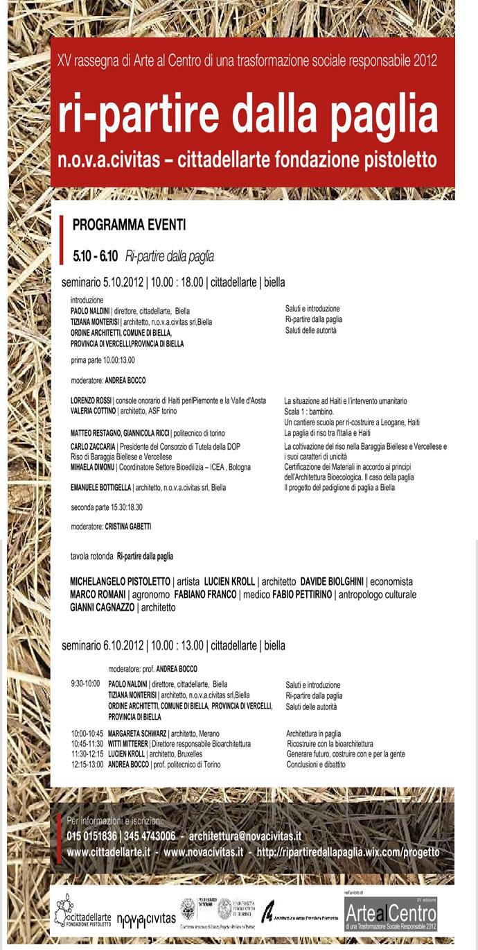 Mostra Bioarchitettura In Tour Biella 5 15 Ottobre 2012